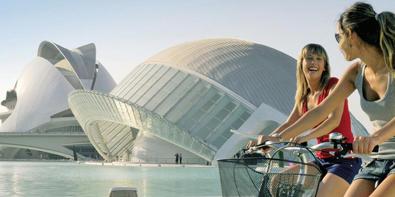 De stad van Kunst en Wetenschap