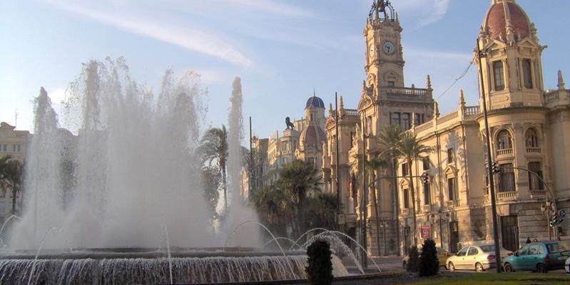 Het Stadhuis van Valencia