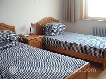 Tweepersoonskamer in de on-site residentie