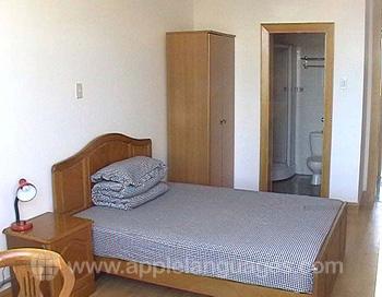 Eenpersoonskamer in de on-site residentie