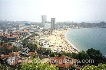 Panorama van Qingdao