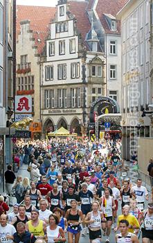 De marathon, Munster