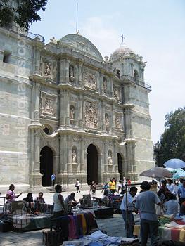 De kathedraal, Oaxaca