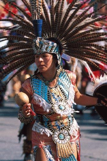 Azteekse ceremonie