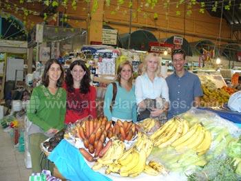 Een bezoekje aan de lokale markt