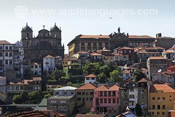 Panorama van Porto