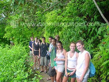 Excursie naar het regenwoud