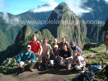 Bezoek aan Macchu Pichu