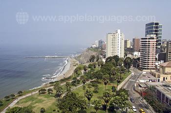 Lima heeft een prachtige locatie!
