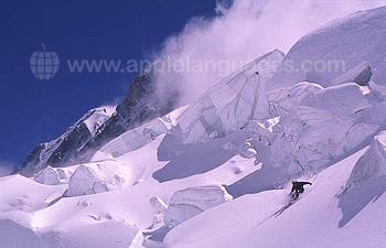 Off piste ski