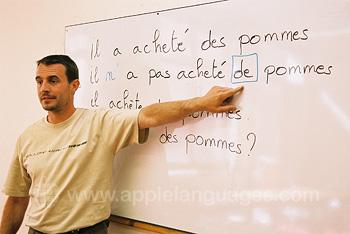 Vriendelijke Franse leraren