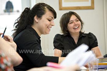 Vrienden maken tijdens de cursus