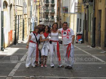 Studenten in Pamplona