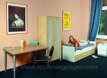 Studenten in gedeeld appartement