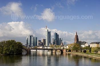 Frankfurt vanaf de rivier