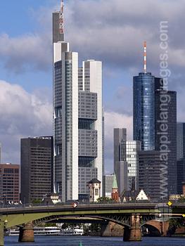 Financi?le wijk, Frankfurt