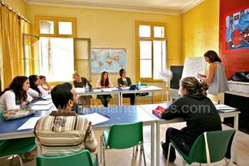 Heldere en luchtige klaslokalen
