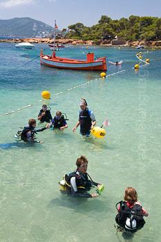 Met inbegrip van snorkelen en scuba duiken