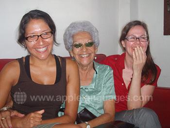 Studenten met Cubaanse gastmoeder