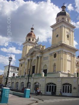 Een kerk in Santiago