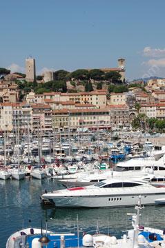 De haven, Cannes