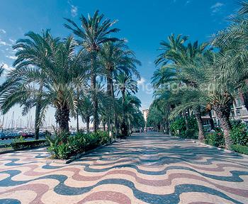 De promenade, Alicante