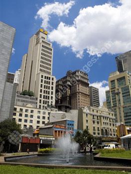 Een van de vele parken in S?o Paulo
