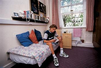 Accommodatie in een hostel