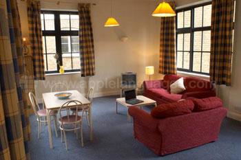 Lounge in gedeelde flat