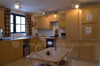 Keuken in de gedeelde flat