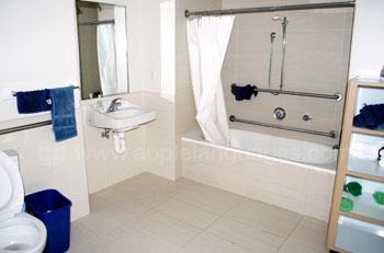 Badkamer in de residentie