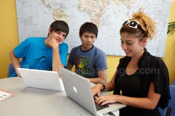 De studentenlounge