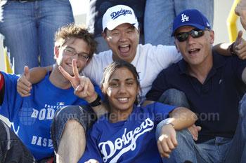 Excursie naar een Dodgers wedstrijd