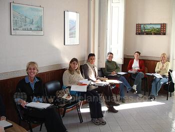 Een klaslokaal op onze school