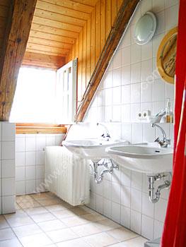 Badkamer in een gastenverblijf