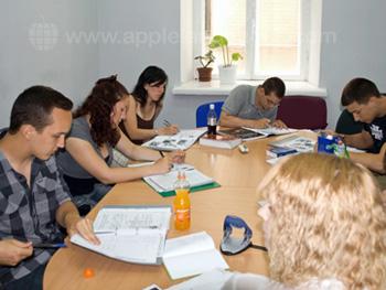Russische les op school