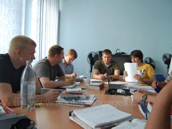 Russische les op onze school
