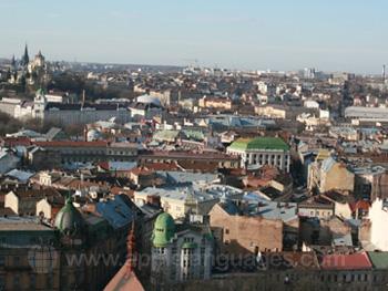 Uitzicht van Kiev
