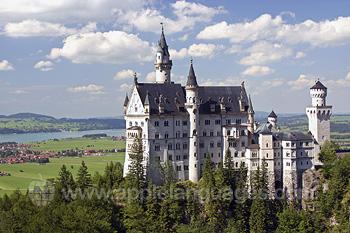 Het sprookjesachtige Neuschwanstein kasteel