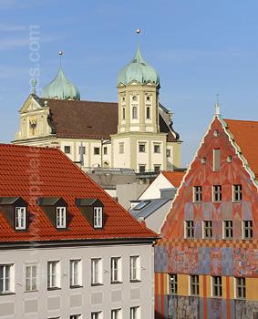 Het historische Ausburg