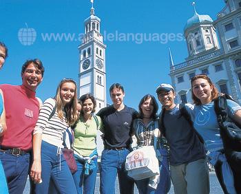 Onze studenten in Ausburg