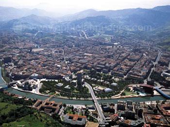 Uitzicht van Bilbao