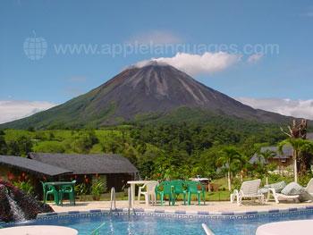 De Arenal vulkaan