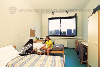 Studenten in de residentie