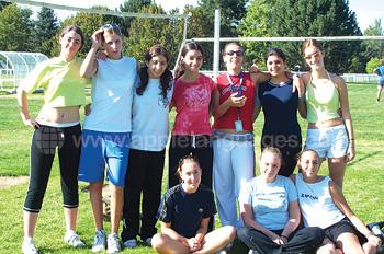 Voetbal in het zomerkamp