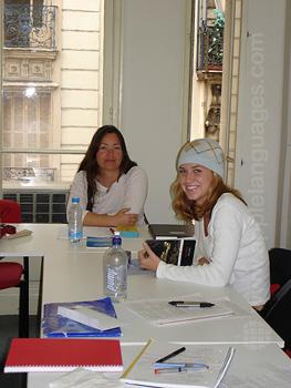 Studenten in onze school