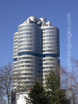 Het BMW gebouw