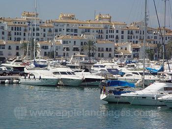 De zee in Marbella