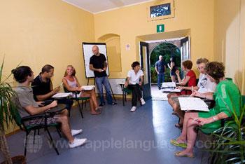 Italiaanse les op onze school