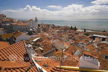 Panorama over Lissabon